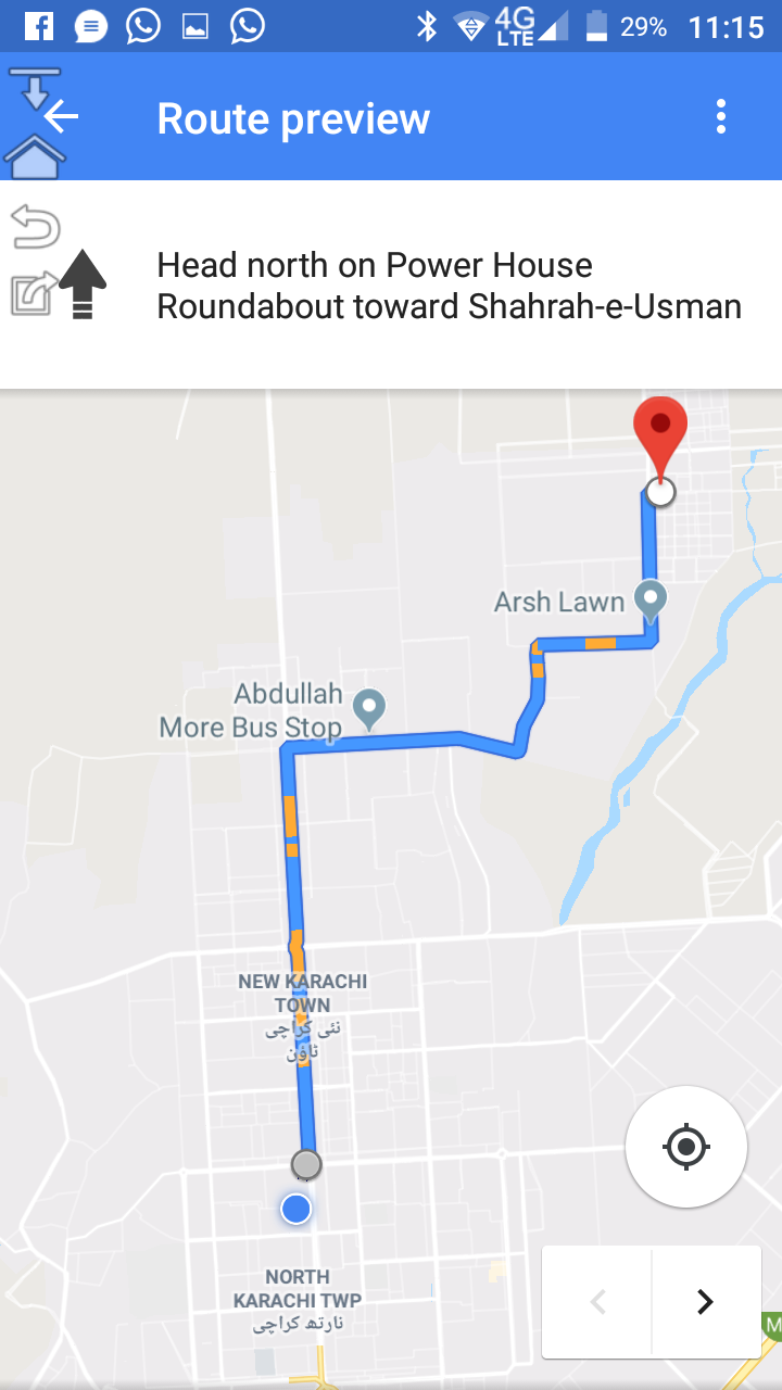 Plot for sale in Taiser Town New Lyari Expressway Surjani route